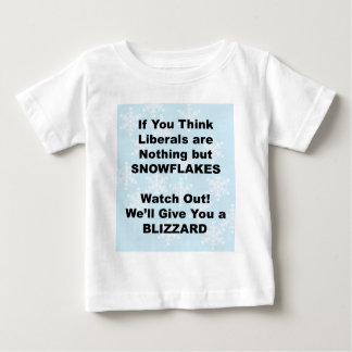 Liberal Blizzard Baby T-Shirt
