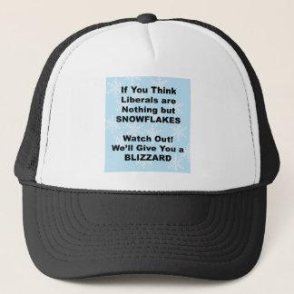 Liberal Blizzard Trucker Hat