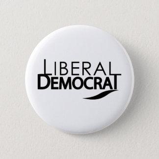 Liberal Democrat 6 Cm Round Badge