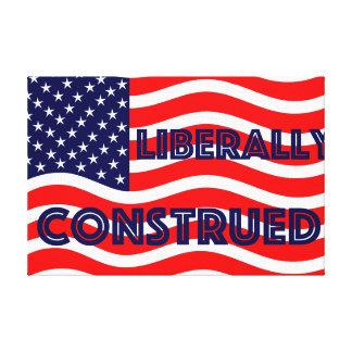 Liberal Democrat Democratic Politics Election 2016 Canvas Print