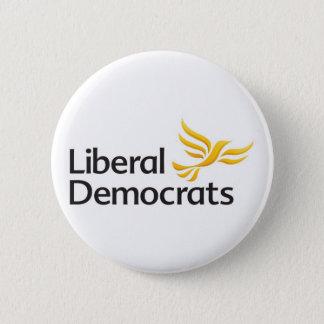 Liberal Democrats Button Badge