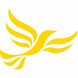 Liberal Democrats Logo Photo Sculpture Badge