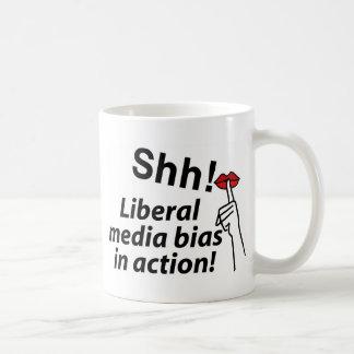 Liberal Media Bias Coffee Mugs