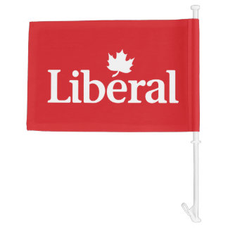 Liberal Party Canada Flag