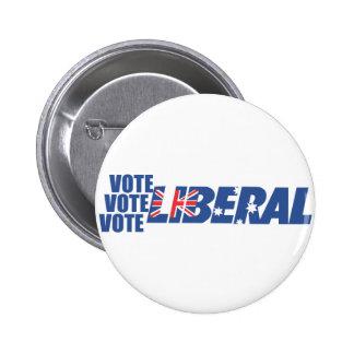 Liberal Party of Australia 6 Cm Round Badge