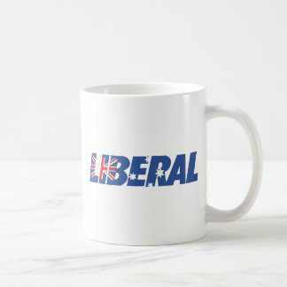Liberal Party of Australia Basic White Mug