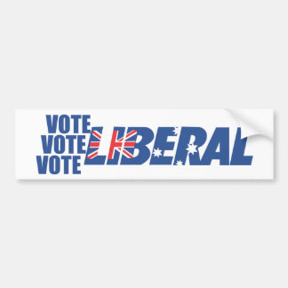Liberal Party of Australia Bumper Sticker