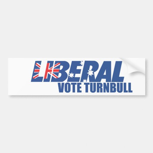 Liberal Party of Australia Bumper Stickers