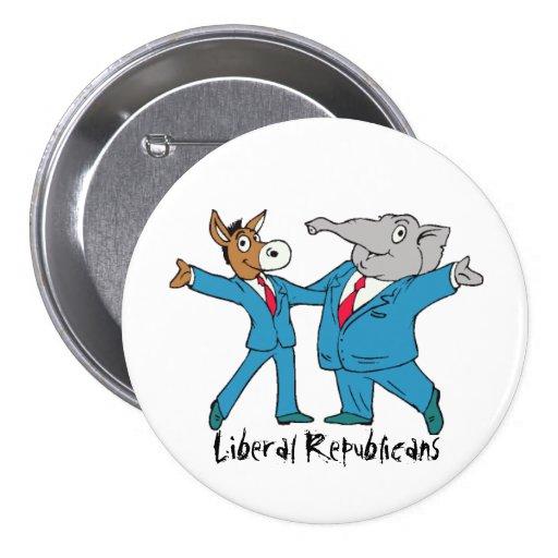 Liberal Republicans Party Button