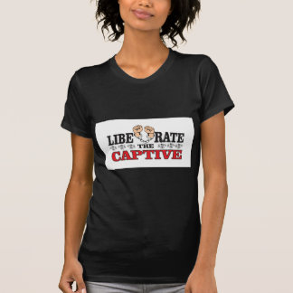 liberate the captive art T-Shirt