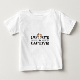 liberate the inslaved baby T-Shirt
