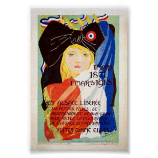 Liberated Alsace - French Posters
