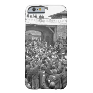 Liberated prisoners in the Mauthausen_War Image Barely There iPhone 6 Case