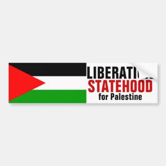 LIBERATION and STATEHOOD FOR PALESTINE bumperstick Bumper Sticker