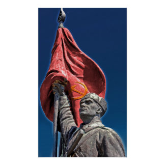 Liberation Army Communist Soldier Poster