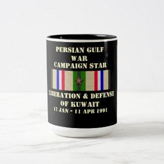 Liberation & Defense of Kuwait Campaign Two-Tone Mug