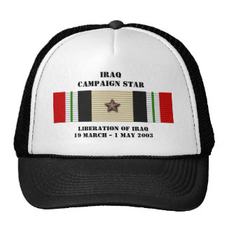 Liberation of Iraq Campaign Star Cap