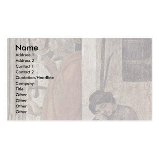 Liberation Of Saint Peter From Prison By An Angel Business Card Template