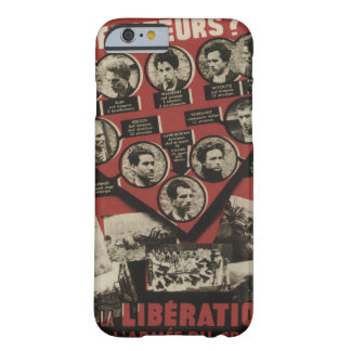 Liberation Propaganda Poster Barely There iPhone 6 Case