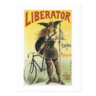 Liberator Cycles Motorcycles Postcards