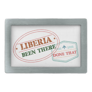 Liberia Been There Done That Belt Buckles