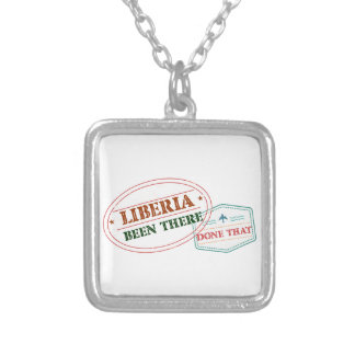 Liberia Been There Done That Silver Plated Necklace