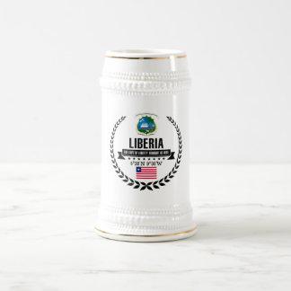 Liberia Beer Stein