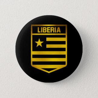 Liberia Emblem 6 Cm Round Badge