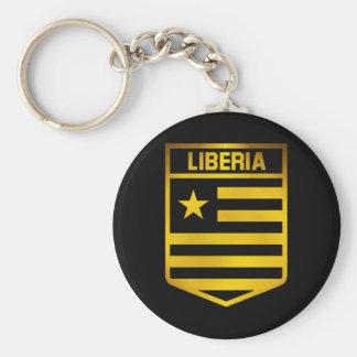 Liberia Emblem Key Ring