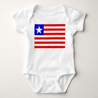 Liberia Flag Baby Bodysuit