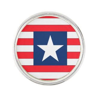 Liberia Flag Lapel Pin