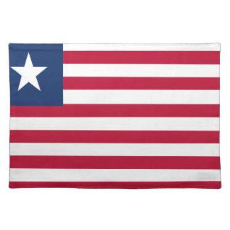 Liberia flag placemat