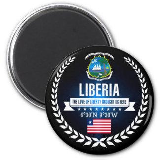 Liberia Magnet