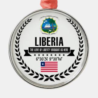 Liberia Metal Ornament