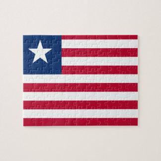 Liberia National World Flag Jigsaw Puzzle