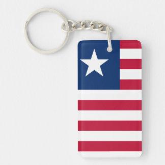 Liberia National World Flag Key Ring