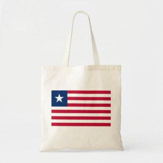 Liberia National World Flag Tote Bag