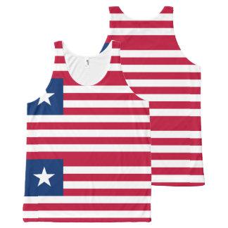 Liberian flag All-Over print singlet