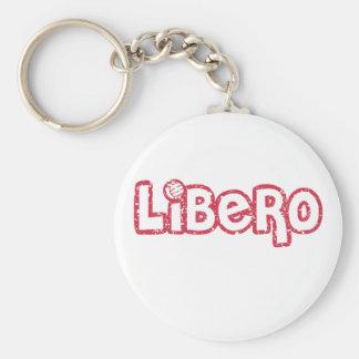 Libero Volleyball Key Ring