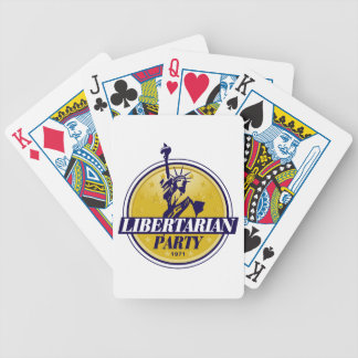 Libertarian Party Logo Politics Poker Deck