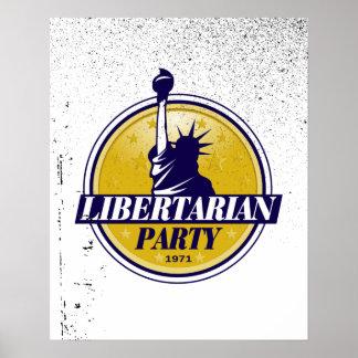 Libertarian Party Logo - Poster