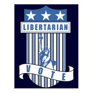 Libertarian Party Postcard