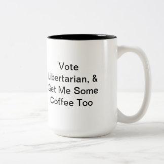 Libertarian Political Coffee Mug