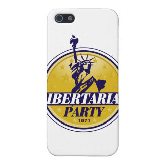 Libertarian Political Party Logo iPhone 5 Cases