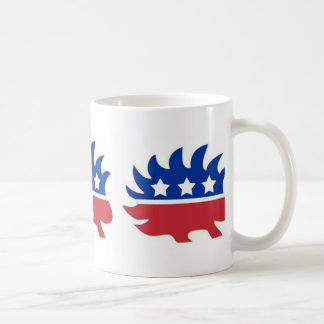 Libertarian Porcupine Coffee Mug