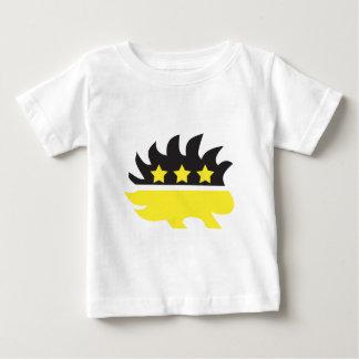 Libertarian porcupine logo (yellow) baby T-Shirt