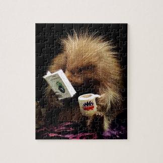 Libertarian Porcupine Mascot Civil Disobedience Jigsaw Puzzle