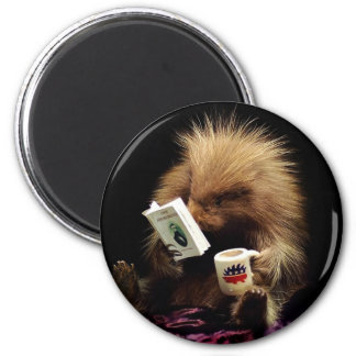 Libertarian Porcupine Mascot Civil Disobedience Magnet