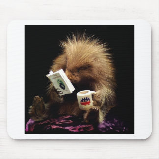 Libertarian Porcupine Mascot Civil Disobedience Mouse Pad