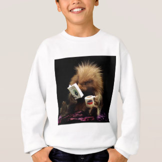 Libertarian Porcupine Mascot Civil Disobedience Sweatshirt